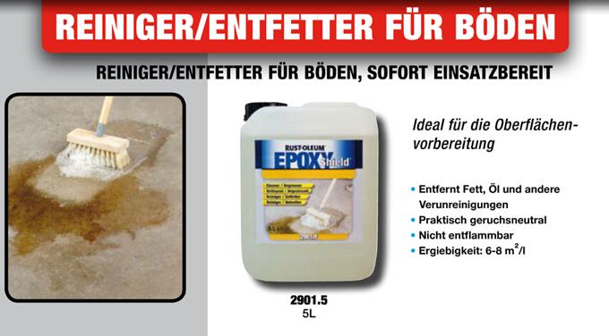 epoxy shield boden reiniger entfetter vorbereiter 5 liter. Black Bedroom Furniture Sets. Home Design Ideas