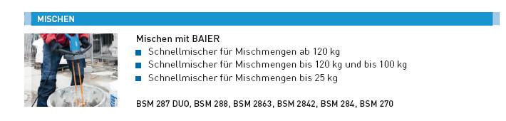 BAIER Fassadenfräse BFF 222, B 190 mm, T 6 mm, mi